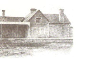 NCW Railway Station – 1959
