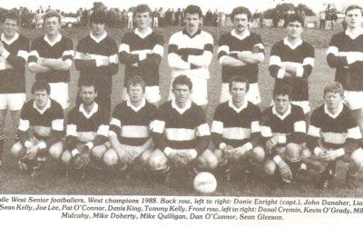 NCW GAA & Juvenile & Camogie Notes 1988