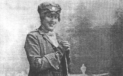 The Flying Irish Woman
