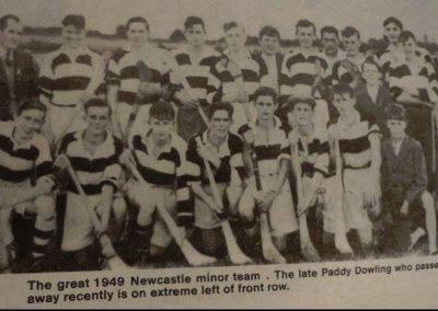 1949 NCW Minor hurling team
