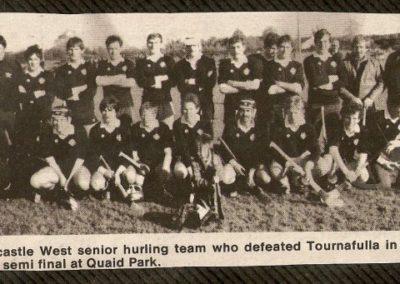 1985 Senior West Semi-Final
