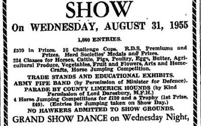 NCW Agricultural Show 1955