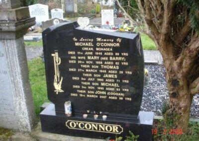 O'Connor Headstone