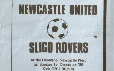 League Of Ireland Programmes – 1985