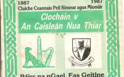 1987 Football Finals Programme