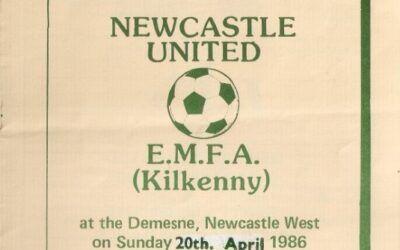 League of Ireland Programmes – 1986