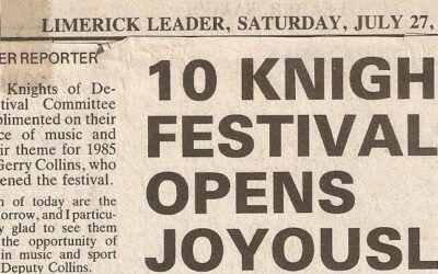 Ten Knights of Desmond Festival 1985 (2)
